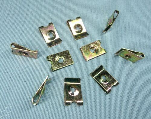 20x Befestigungsklammer Blechmutter Klammer M3 11 x 17 H4 metall Universal 291