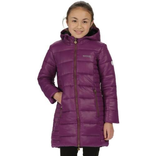 Regatta Kids Berry Hill Puffer Jacket Boys Girls Hooded Coat