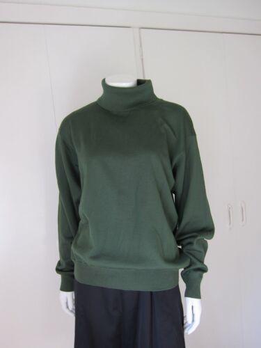 in lana Ara girocollo verde Stunning stampa merino Maglione con E54z0qx