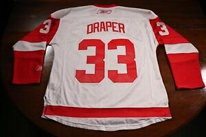 Detroit Red Wings Vintage Chris Draper Reebok Premier CCM Jersey NHL Hockey M