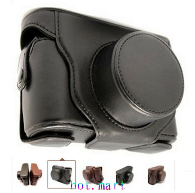 Leather Case Set bag for Fuji Finepix X100 X100S Black
