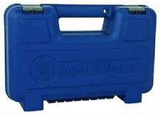 Smith and Wesson S&W LARGE Blue Plastic Pistol/Revolver Case  NEW Free SHIP