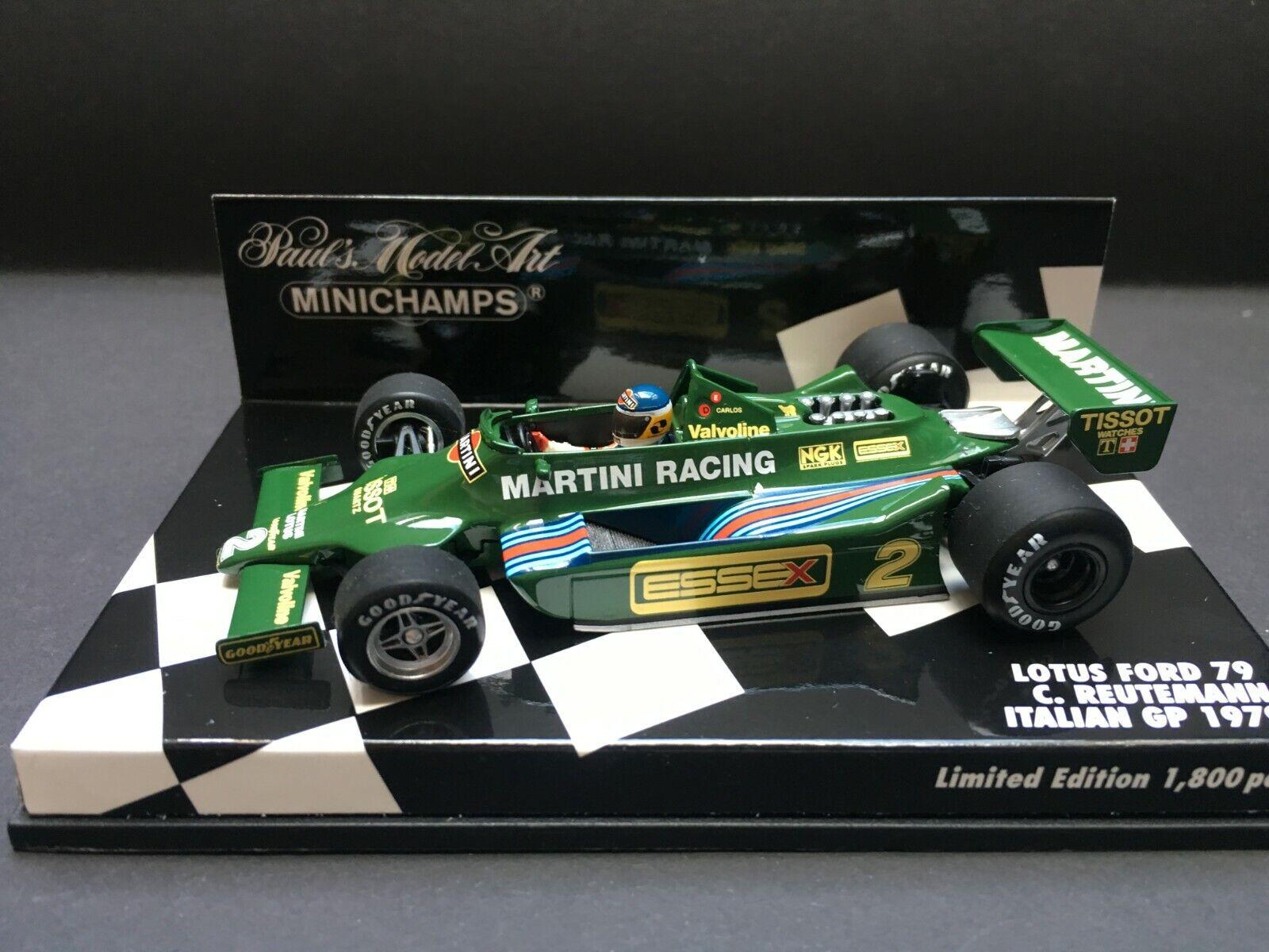 Minichamps - Carlos Reutemann- Lotus - 79 - 1 43 43 43 - 1979 - Italian GP 522