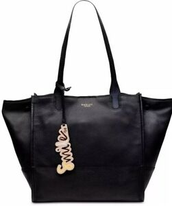 Image Is Loading New Radley London Ious Smile Open Toe Tote