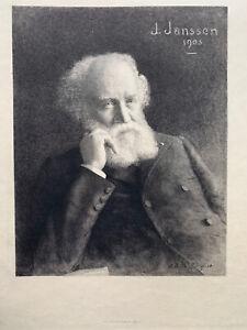 Achille jacquet eau forte engraving etching kan janssen 1903