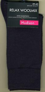 HUDSON-RELAX-WOOLMIX-Socken-Schurwolle-amp-Baumwolle-Farbe-marine-HUDSON-014230