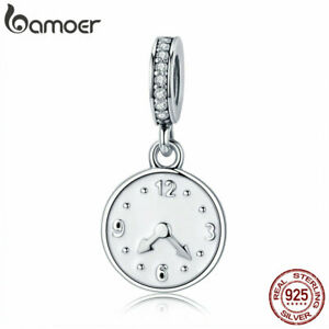 BAMOER-Authentic-925-Sterling-Silver-Charm-good-time-DIY-for-Bracelet-Jewelry