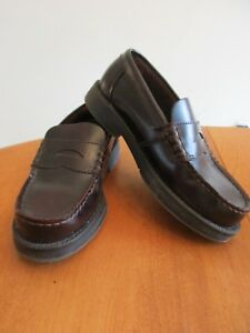 Bass Youth Boy's Burgundy Classic Penny Loafers Sz. 1 1/2 ...