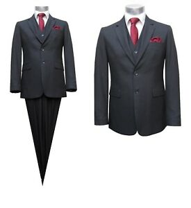 Herren-Anzug-3-teilig-Muga-Gr-60-Anthrazit
