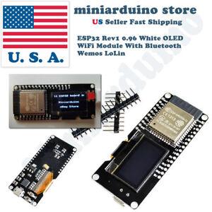 Lolin ESP32 OLED Module Arduino OLED WiFi Modules+Bluetooth Dual ESP