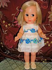 """American Character Blue Ribbon 13"""" Vinyl Doll with Follow Me Eyes"""