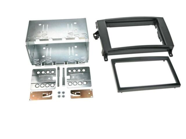 Mercedes B Class W245, Vito W639; Car Radio Panel, Installation Frame Double Din