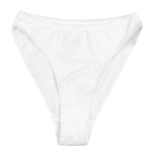 Kids Girls Seamless Comfy High Cut Ballet Dance Underwear Briefs Pants Knickers