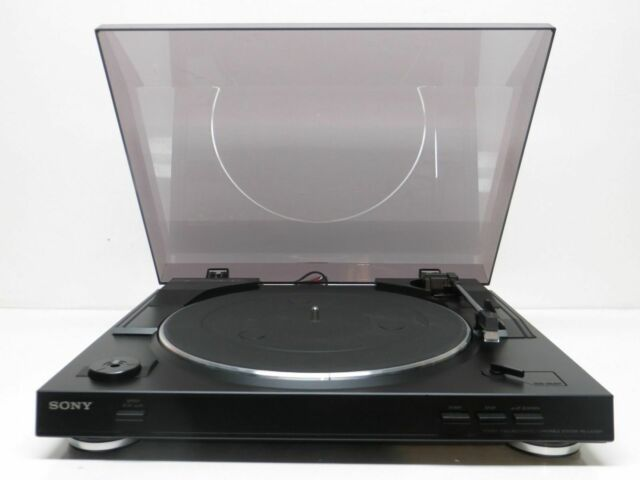 Sony Automatic Stereo Turntable  Phonograph System - Servo Controlled