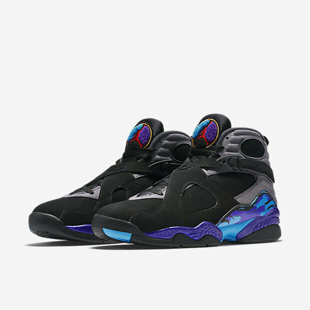 2015 Nike Air Jordan 8 VIII Retro Aqua Size 16. 305381-025 1 2 3 4 5 6