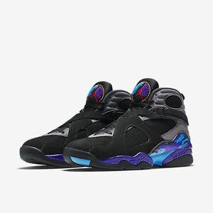 d53b82c3af440c 2015 Nike Air Jordan 8 VIII Retro Aqua Size 9. 305381-025 1 2 3 4 5 ...