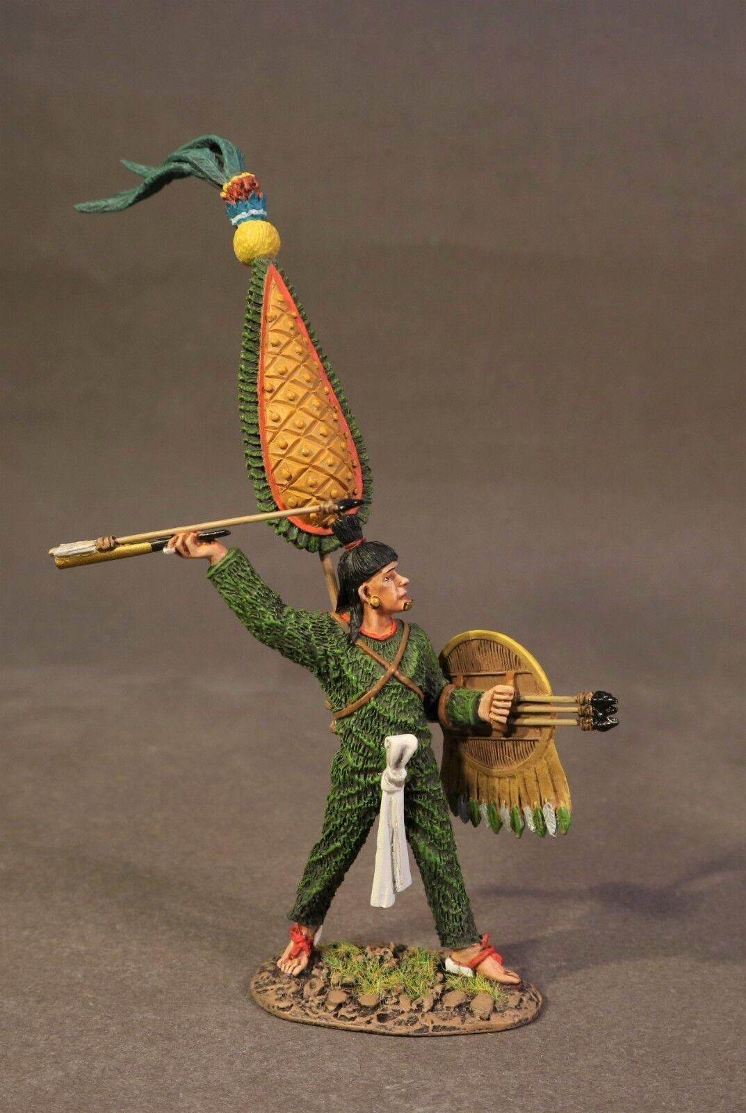 John Jenkins Azteken & Conquistadors AZ-12 Aztekenmuster Krieger mit Atlatl MIB