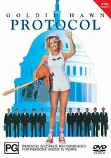 Protocol (DVD, 2003) Goldie Hawn  Brand new, Genuine & Sealed  - Free Post D80