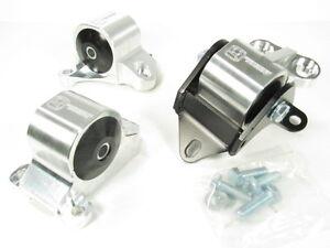 INNOVATIVE FOR 96-00 Civic B//D Series Black Aluminum Mounts 75A 2 Bolt