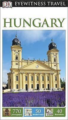DK Travel, DK Eyewitness Travel Guide Hungary, Very Good Book