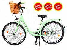 28 pollici donna Amsterdam bicicletta citybike cityrad damenrad Cesto GRATIS tre portate