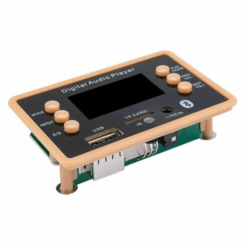 Details about  /Digital Audio Player MP3 Decoder Board Bluetooth With TF USB Port And Remote 12V