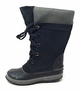 Northside-Womens-Sun-Peak-Snow-Winter-Boot-Black-Size-7-M-US