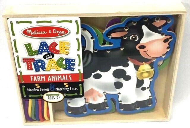 Melissa /& Doug Lace and Trace Farm