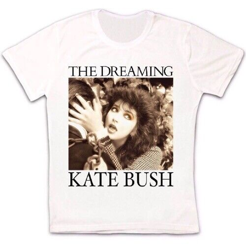 Kate Bush Vintage Style Dreaming Hounds Love Kick Inside Retro T Shirt 2410