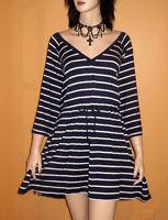 Blue White SWIMSUIT COVER UP DRESS Swim Wear Bathing Suit 4x 5x 6x PLUS SIZE 26