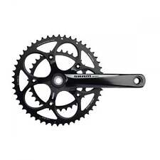 SRAM APEX BLACK/WHITE CHAINSET 170MM 50-34T INC GXP BB