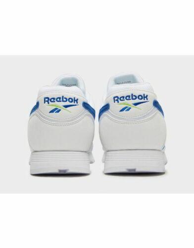zecca Rapide Bianco di uk 11 da Scarpe 5 autentiche ginnastica blu Reebok eu 100 Nuovo 45 P6xZ1wtq