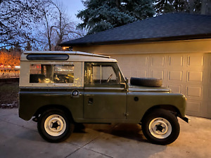 1967 Land Rover Defender Series 2a