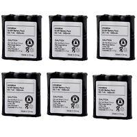 6x Battery For Motorola Radio Hnn9044 Mv11c Mu21cv Mu24cvs Sp10 Sp50 Mv21cv