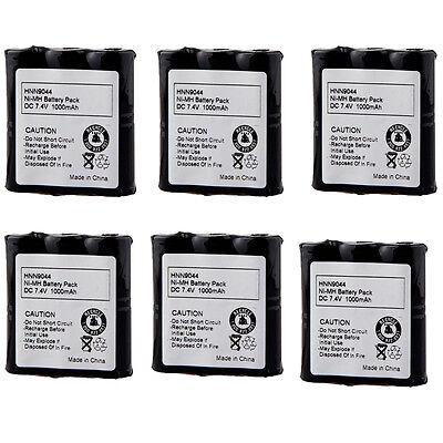 4x HNN9056A Battery For MOTOROLA PRS-102 PRO1150 MU22CVS MU24CVST MU11