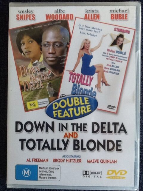 Down In the Delta/ Totally Blonde - NEW Double DVD - All Regions- # 85