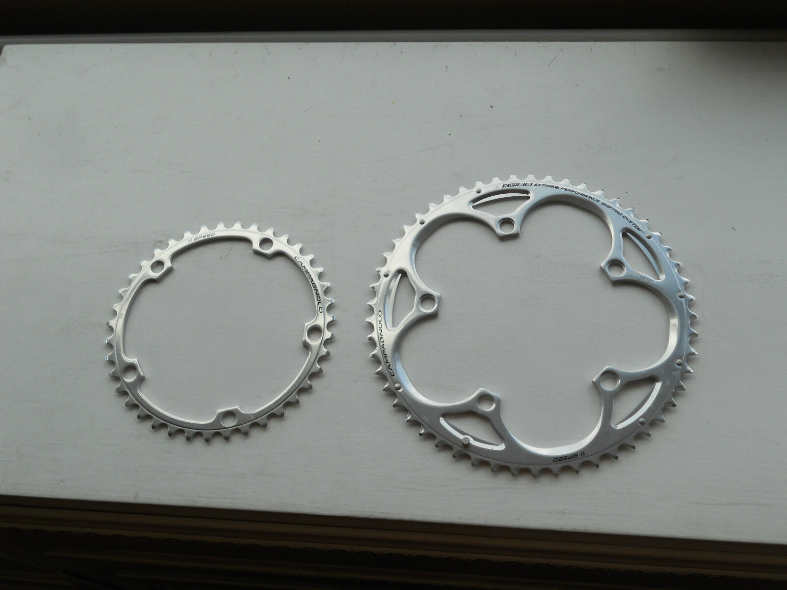 NEW CAMPAGNOLO Athena 11 speed chainring 135bcd 53t 39t XPSS