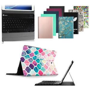 Leather-Case-Bluetooth-Keyboard-For-Samsung-Galaxy-Tab-A-10-5-10-1-9-7-8-0-7-0