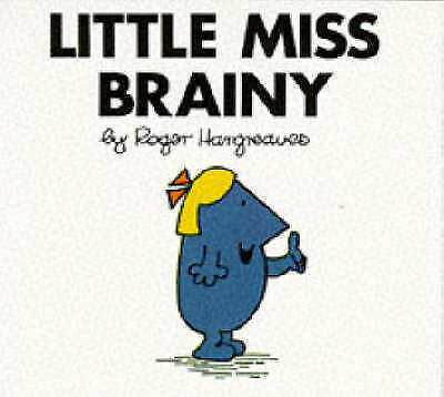 Little Miss Brainy (Little Miss Library), Hargreaves, Roger, Very Good Book