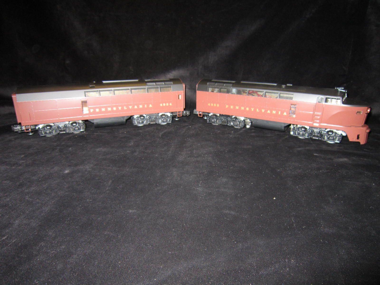 Williams Shark-nosed Diesel PA Railroad Set of 2