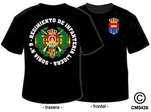 Camisetas militares: brilcan-regimiento de infanteria ...