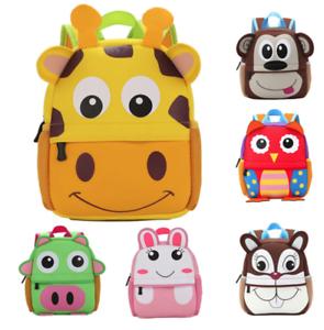 c0cfe93bc1 Image is loading NEW-Cute-Kids-Toddler-Backpack-Kindergarten-School-bag-