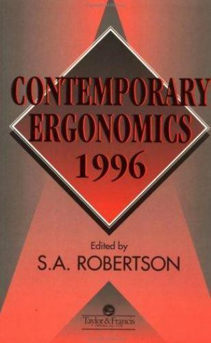 Contemporary Ergonomics: Contemporary Ergonomics 1996 (1996, Paperback)