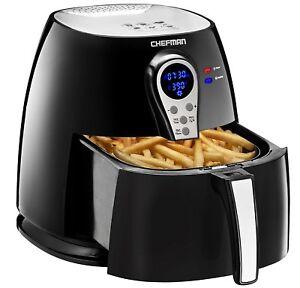 Chefman-Air-Fryer-Adjustable-Temp-Control-Digital-Display-Cool-Touch-RJ38-P1