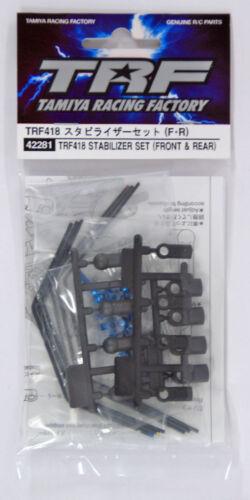 Tamiya 42281 RC TRF418 Stabilizer Set Front//Rear