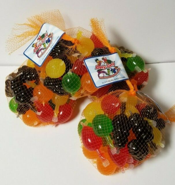 Tik Tok Famous Fruit Jelly Dely Gely (25ct) Bag Squeezable Jellies Candy