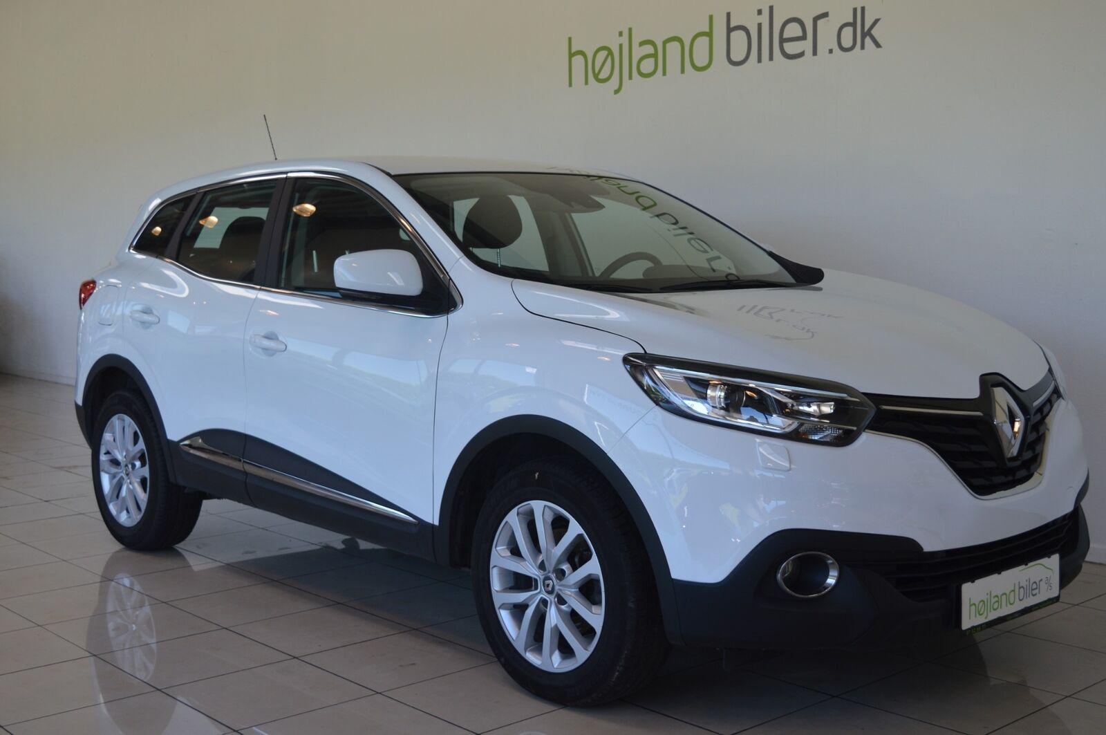 Renault Kadjar 1,5 dCi 110 Zen 5d - 174.500 kr.