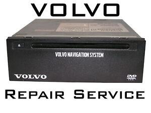 Reparatur-Volvo-RTI-Navigationssystem-Navi-Rechner-DVD-wird-nicht-gelesen