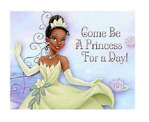 Princess tiana party invitations girls birthday and frog invites image is loading princess tiana party invitations girls birthday and frog filmwisefo