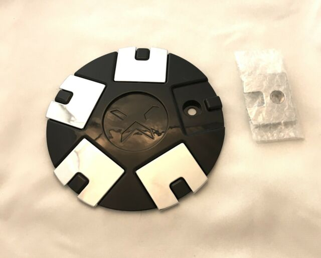 Starr Black /& Polished Wheel Center Cap qty 1 pn C-619-11